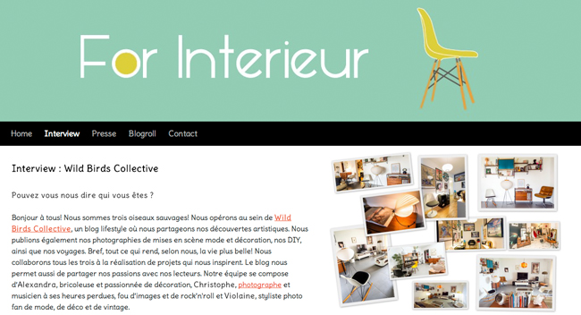 WBC InterviewForInterieur