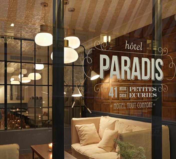 H tel paris un coin de paradis wild birds collective for Booker un hotel