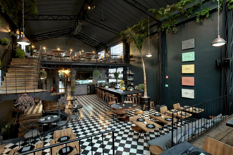 Deco industrielle mexico wild birds collective - Deco de restaurant ...