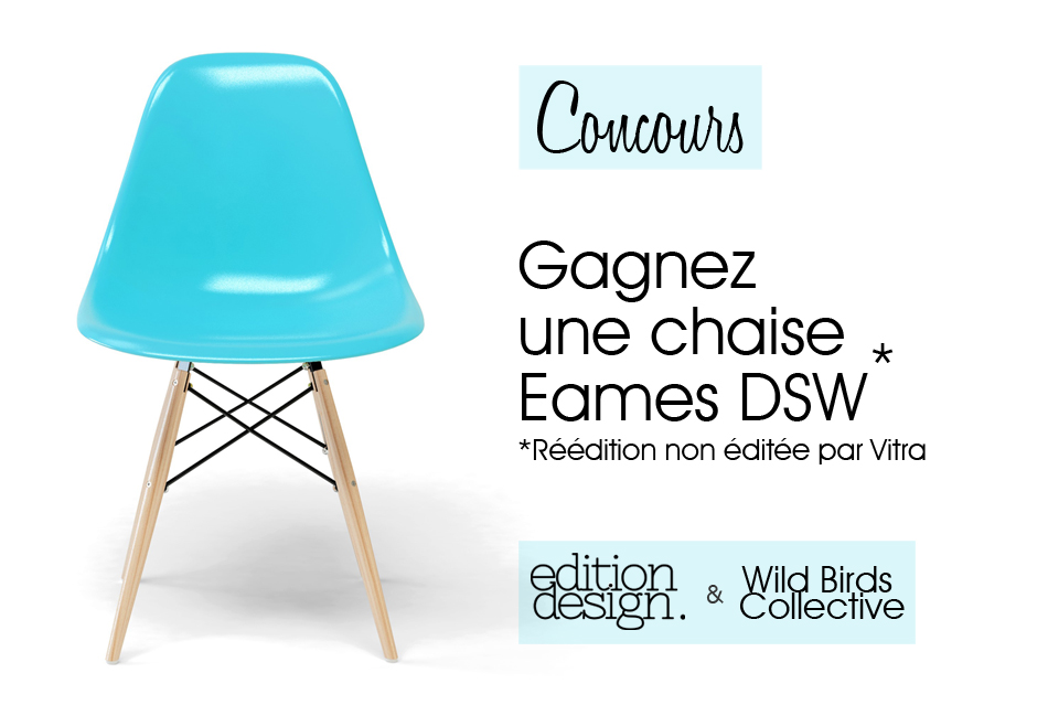 concours gagnez une chaise eames dsw. Black Bedroom Furniture Sets. Home Design Ideas