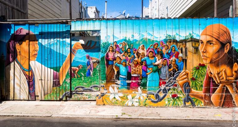 San Francisco : Les Murals de Mission District