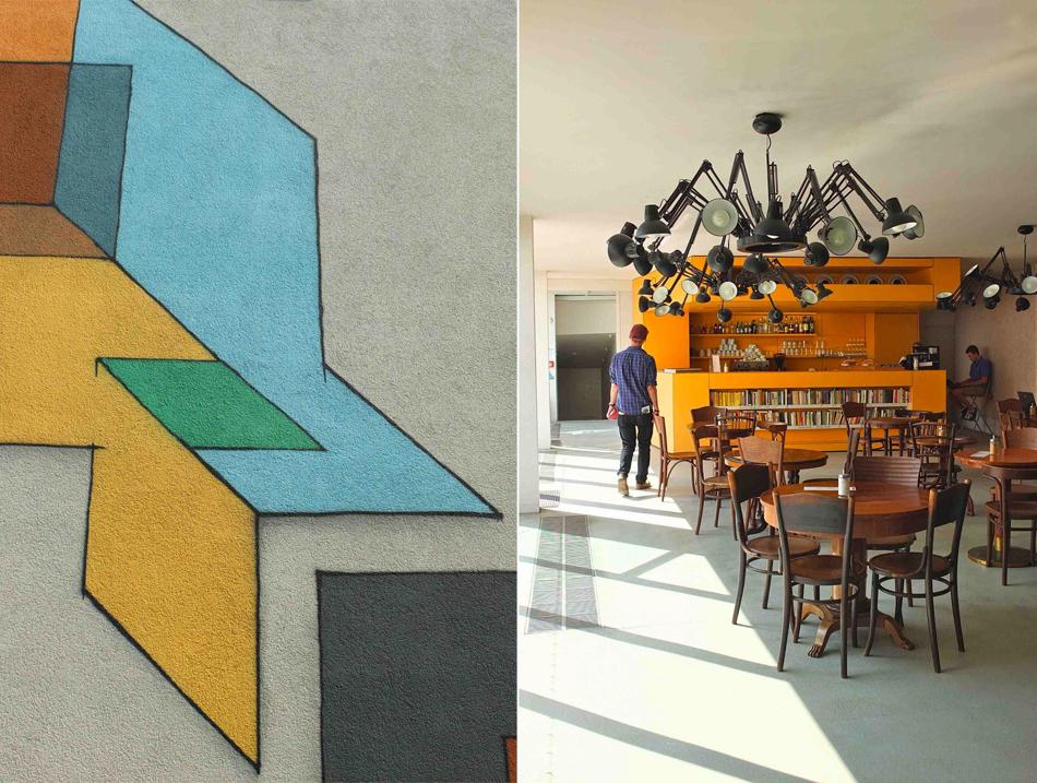 Dox Prague Center of contemporary Art cafe