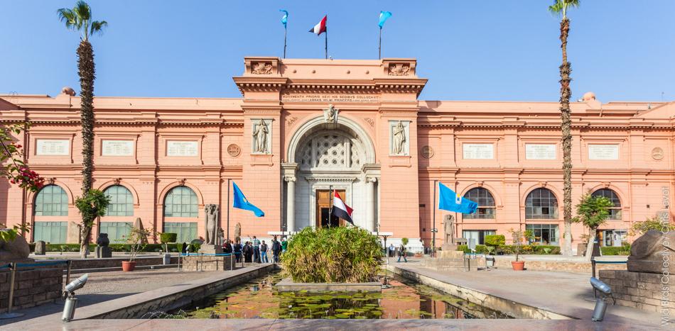 Le Musée Egyptien du Caire