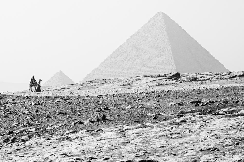 Pyramide de Mykérinos à Gizeh
