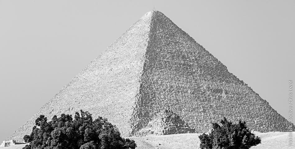 Pyramide de Kheops à Gizeh