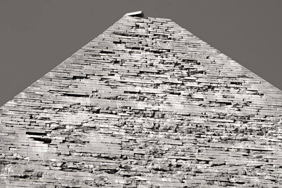 Pyramide de Khephren à Gizeh
