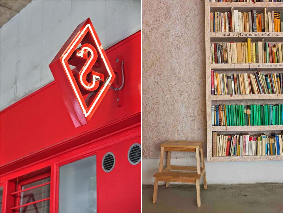 Serwus Varsaw Dox Prague Center of contemporary Art librairie