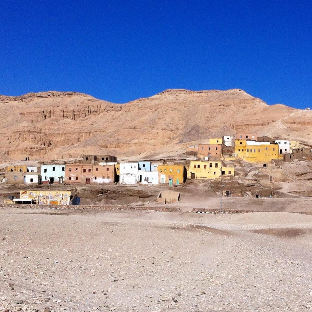 Village abandonné en Egypte
