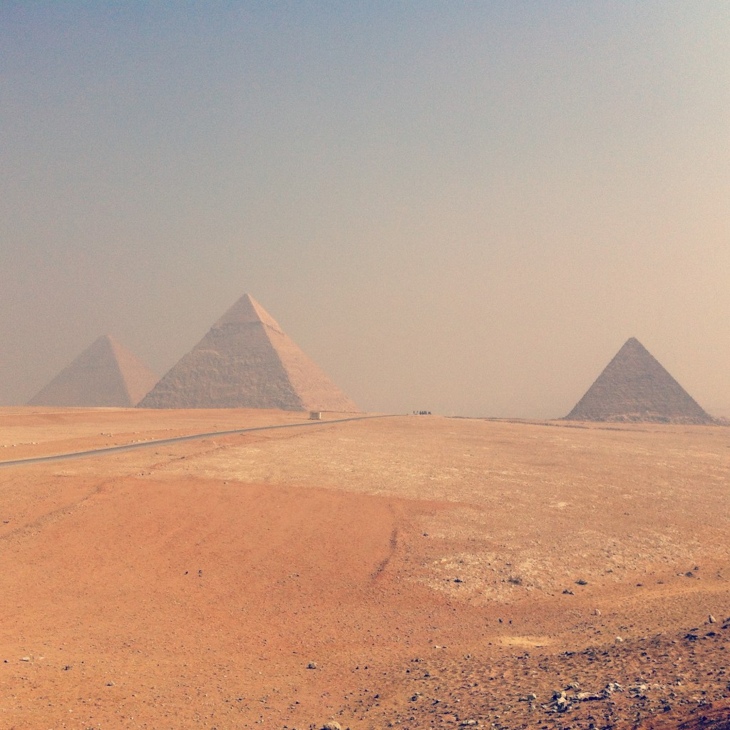 Pyramides de Gizeh en Egypte