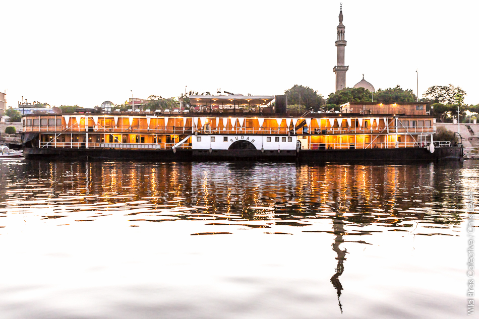 Steam Ship Sudan Egypte