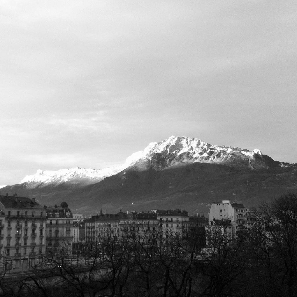Vercors Grenoble hiver