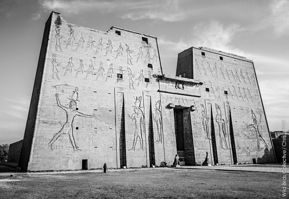 Egypte Temple d'Edfou