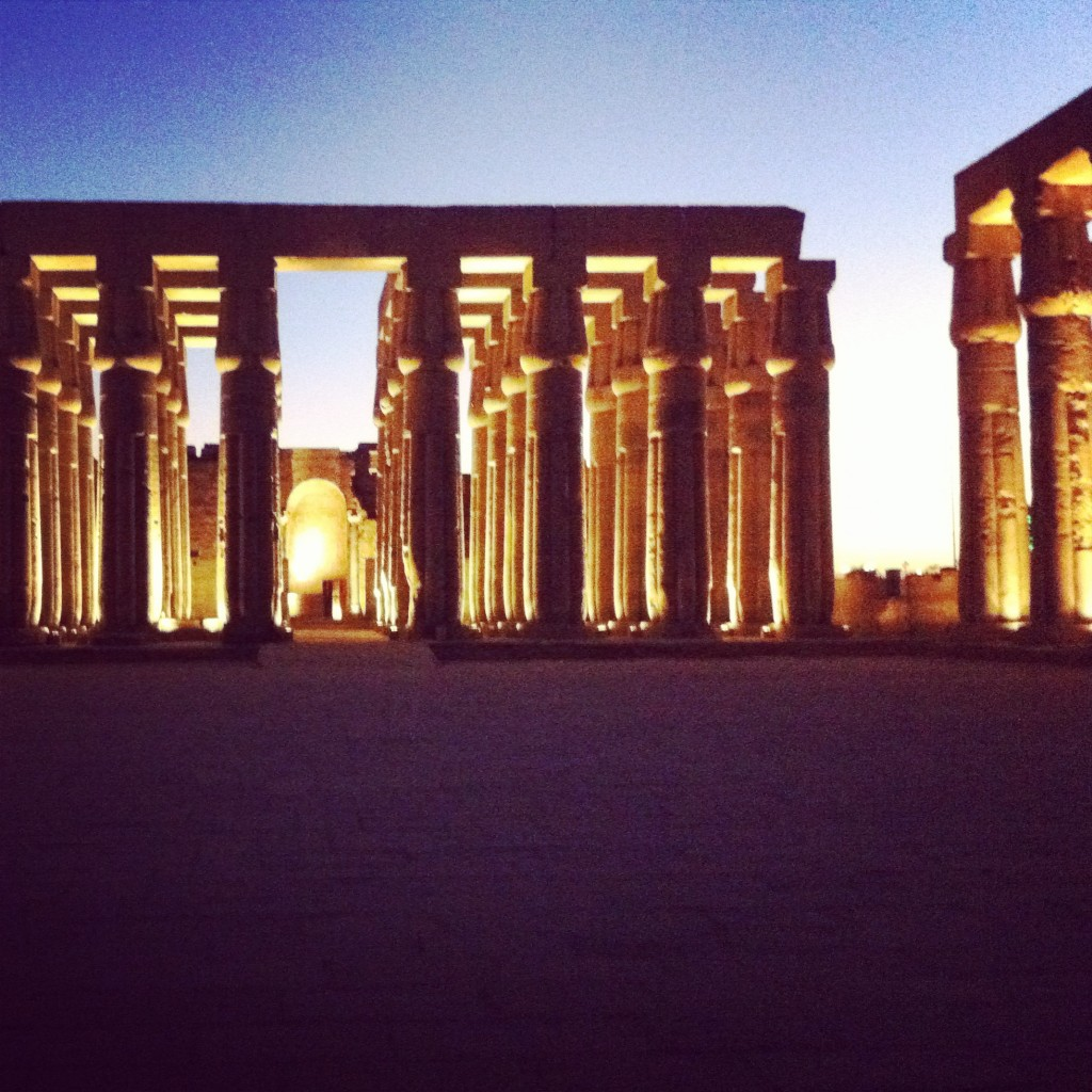 Temple Louxor Egypte