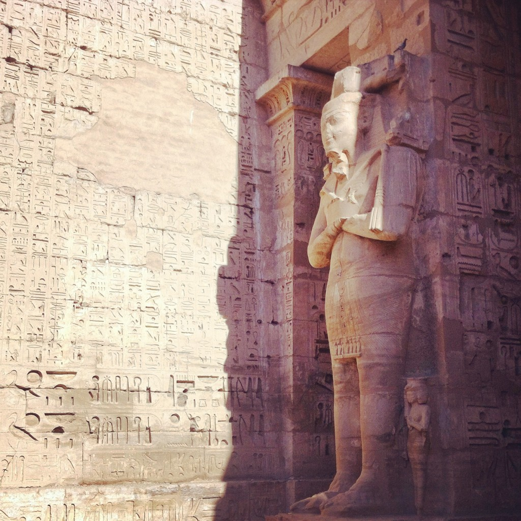 Temple Ramsès III Egypte