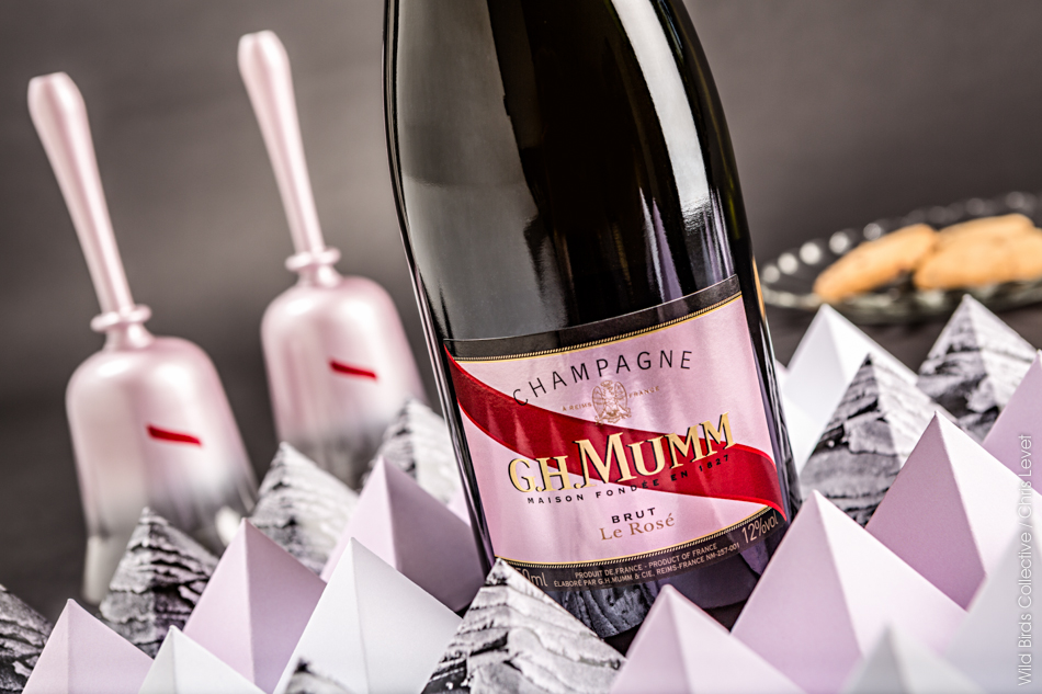 Champagne rosé Mumm Saint Valentin
