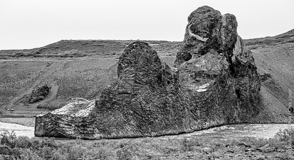 Hljodaklettar Islande