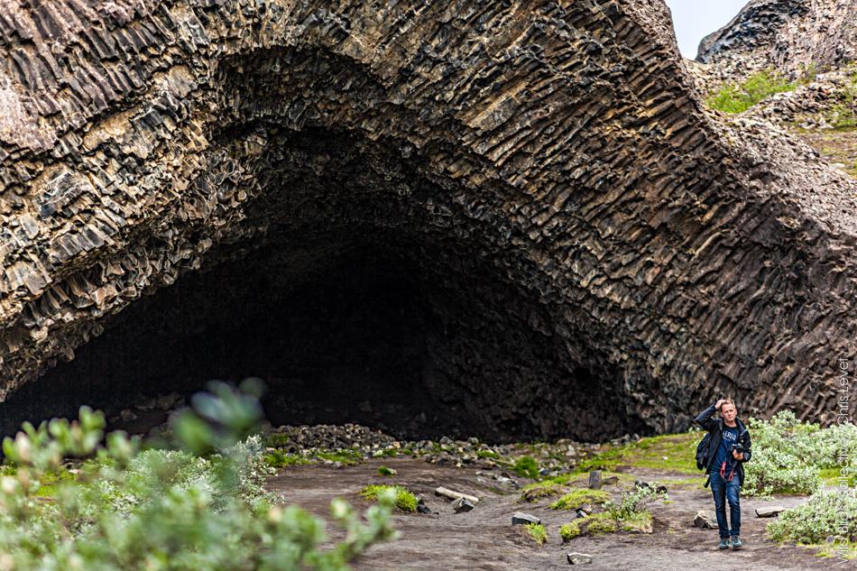 Islande Hljodaklettar Kirkjan