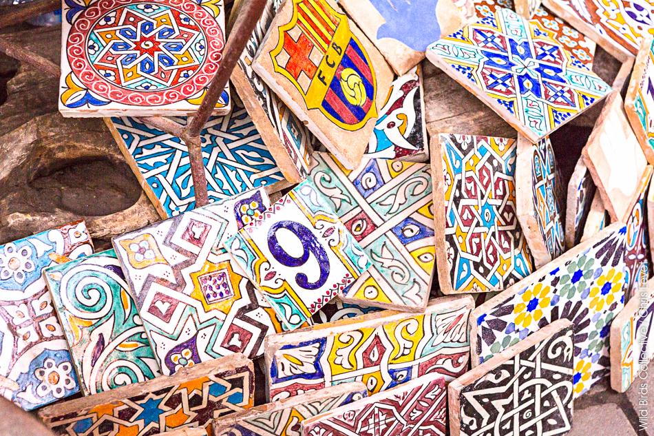 Artisanat dans les souks de Marrakech