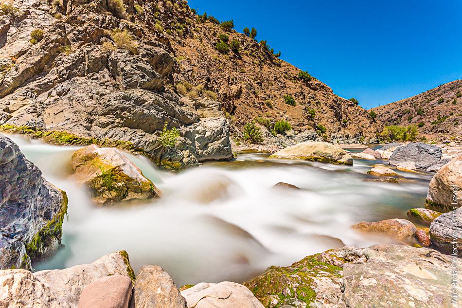 rivière au maroc