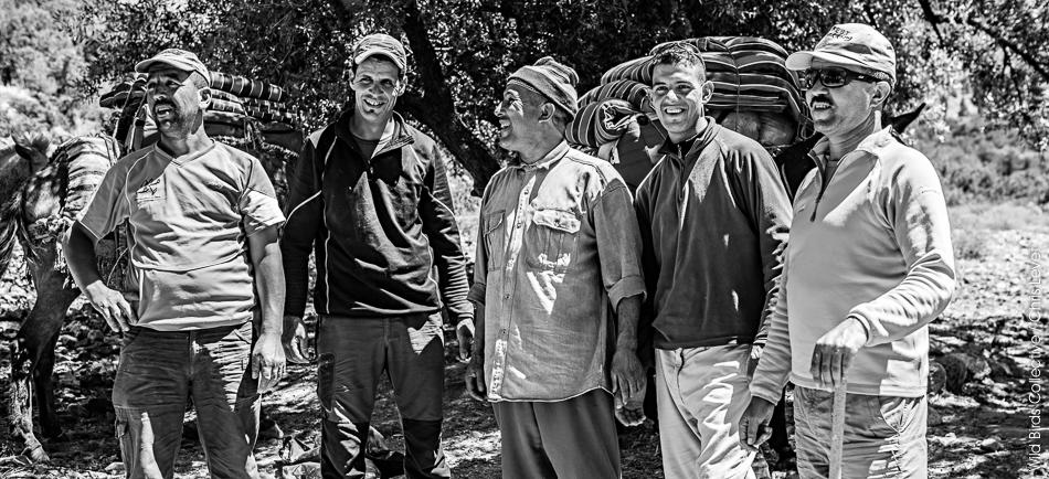 L'équipe du Trek au Maroc