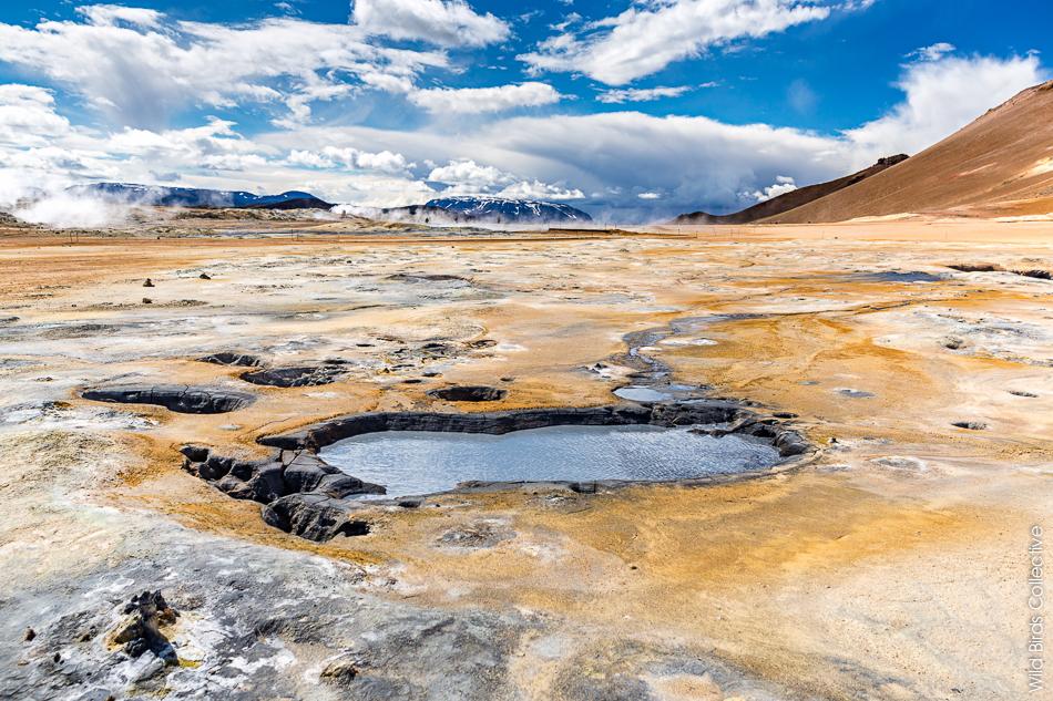 Islande Myvatn Hverir