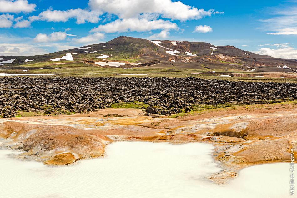Islande Myvatn Leirhnjukur