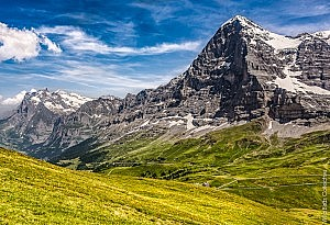 Les stars des Alpes suisses : l'Eiger et la descente de Wengen