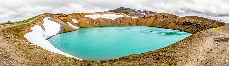 Cratère Viti Myvatn Islande