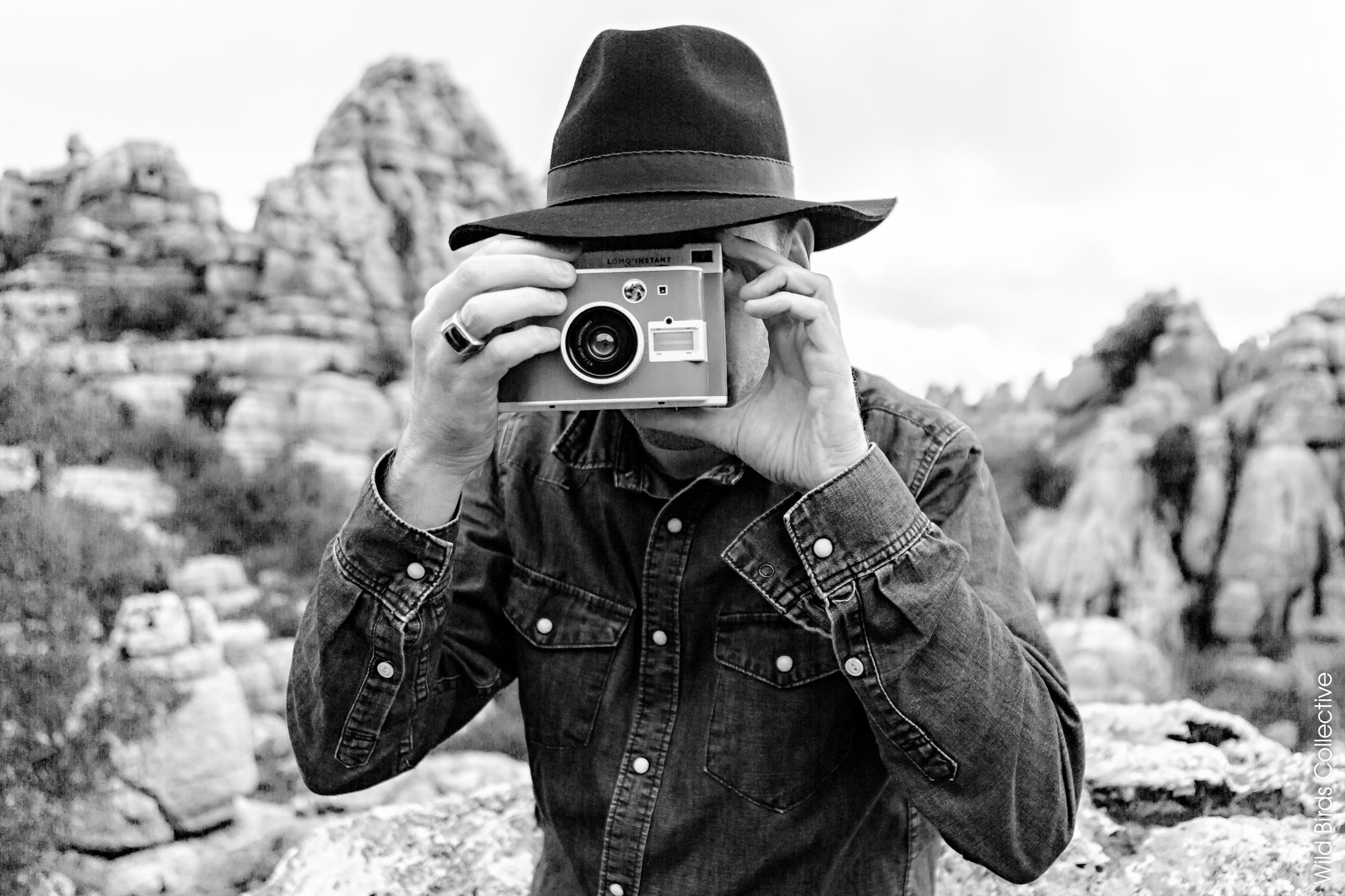 Faire des photos fun avec un appareil instantané LOMO