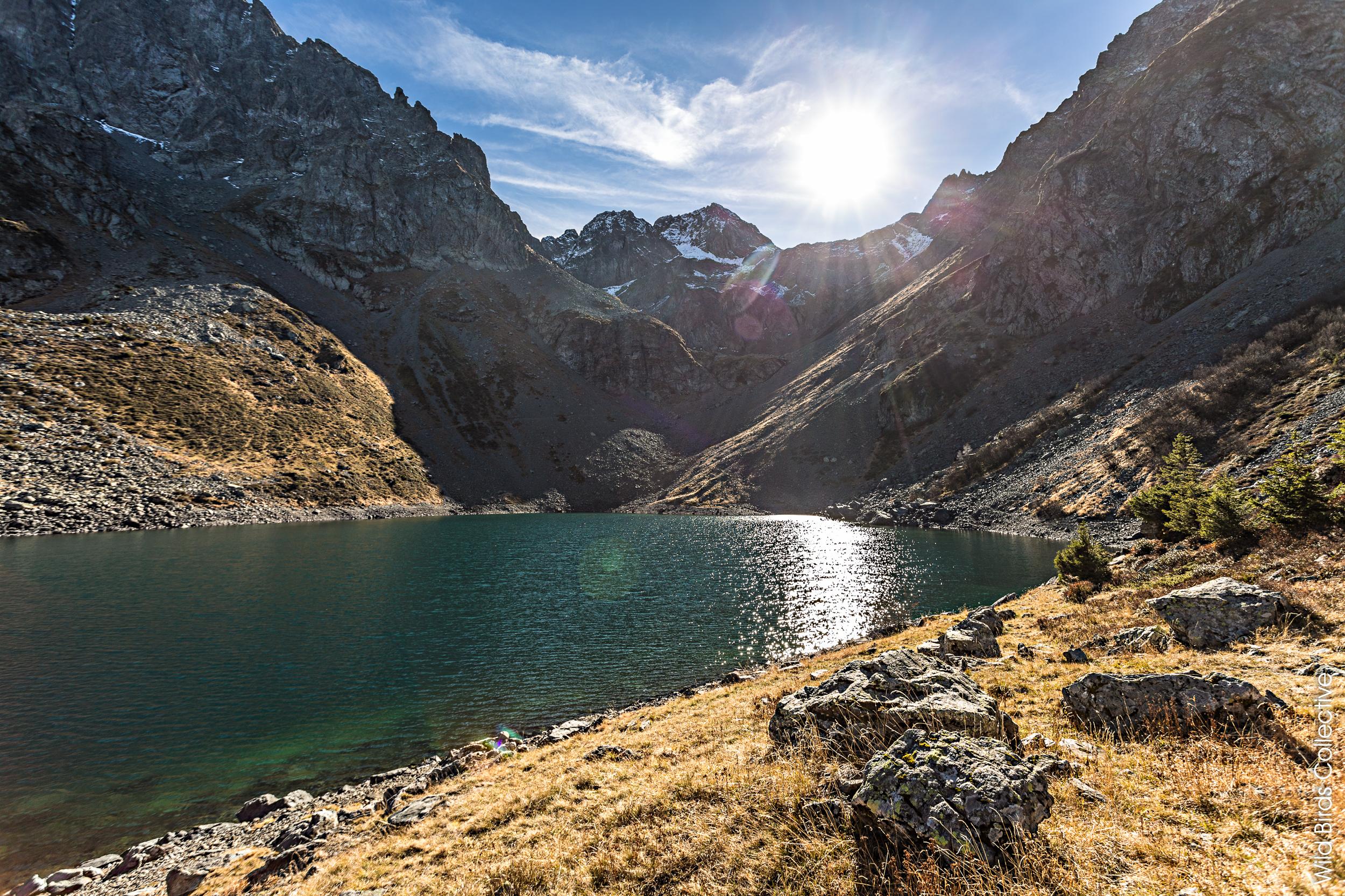 Balade dans les Alpes : Le Lac de Crop