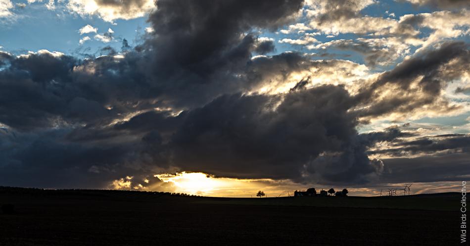 Coucher de soleil, Andalousie