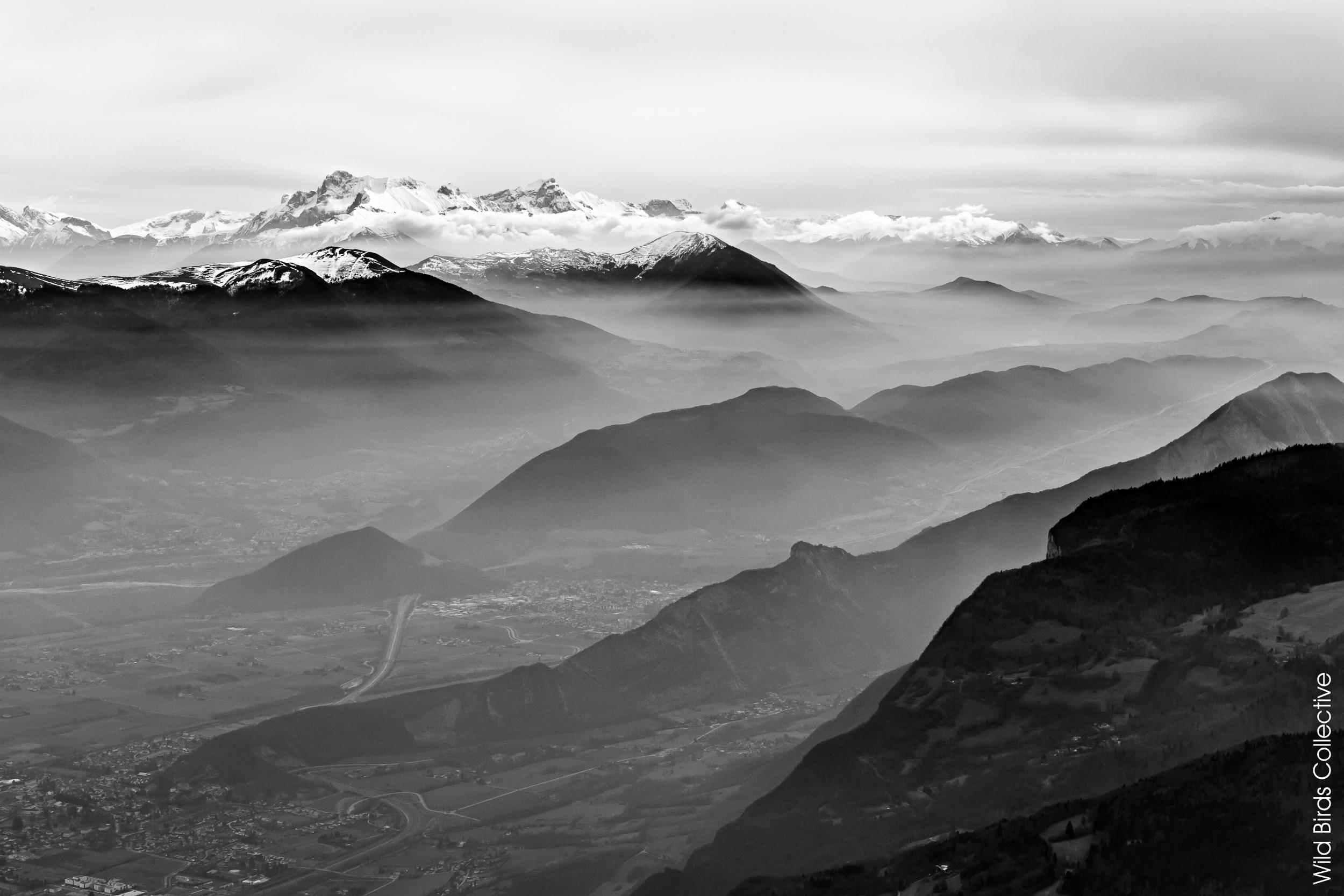 Balade dans les Alpes : Le Moucherotte