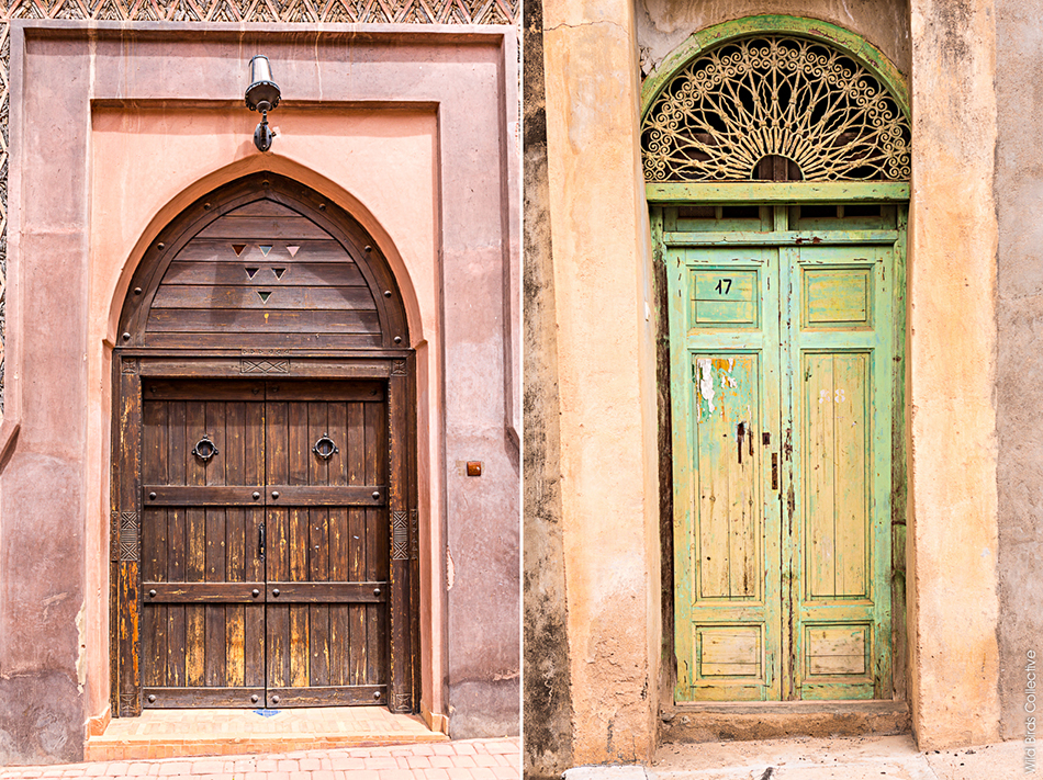 Portes, village berbère, Anti-Atlas, Maroc