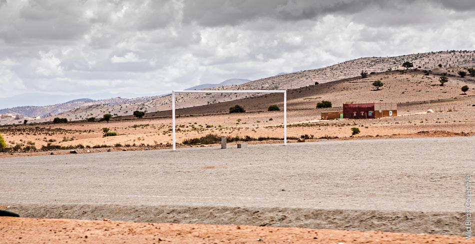 Stade de foot au Maroc