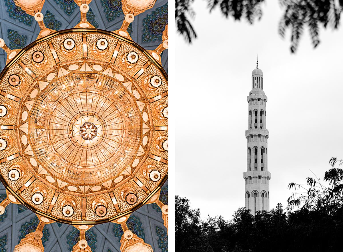 Grande Mosquée Sultan Qabus à Oman