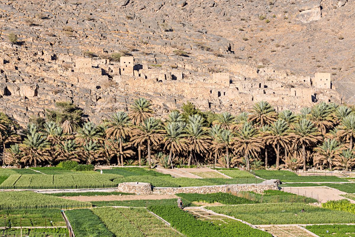 Village de Ghul à Oman