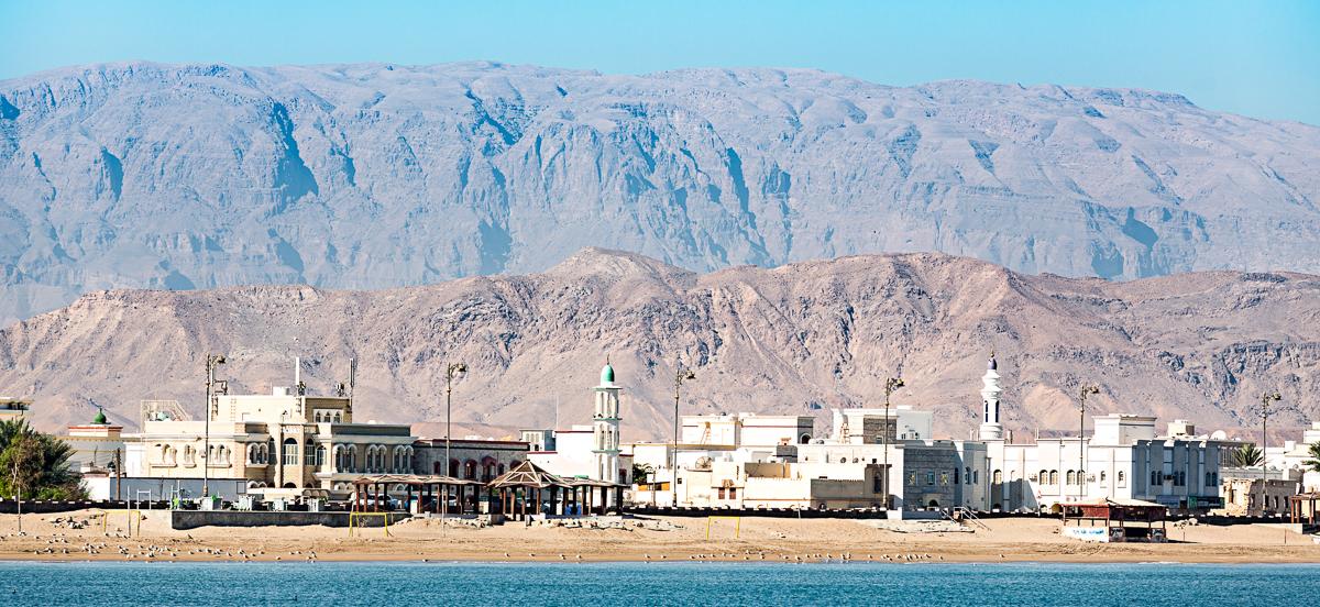 Ville de Sour à Oman