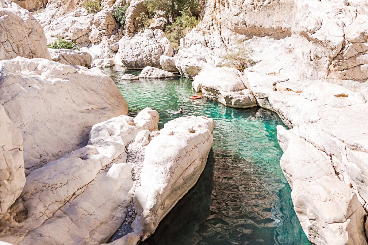 Gorges du wadi Bani Khalid