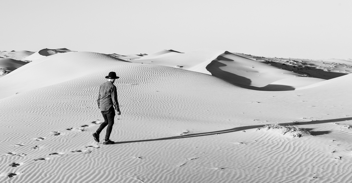 Dunes de Wahiba Sands à Oman