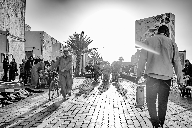 Rue du marché de Ouarzazate