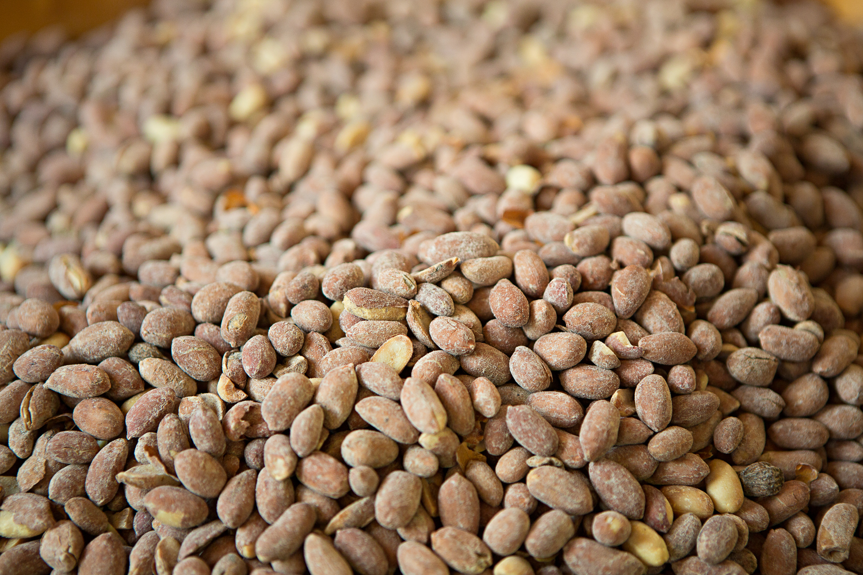 Cacahuètes dans le souk de Ouarzazate