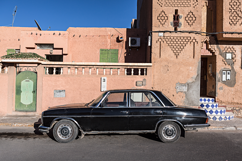 Voiture à Ouarzazate