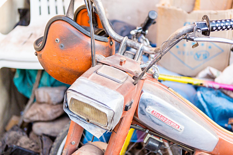 Mobylette à Ouarzazate