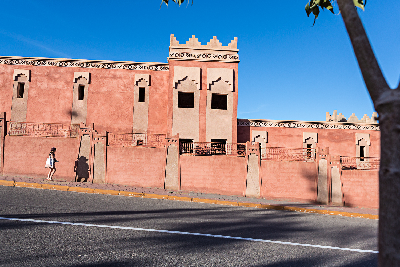 May dans les rues de Ouarzazate