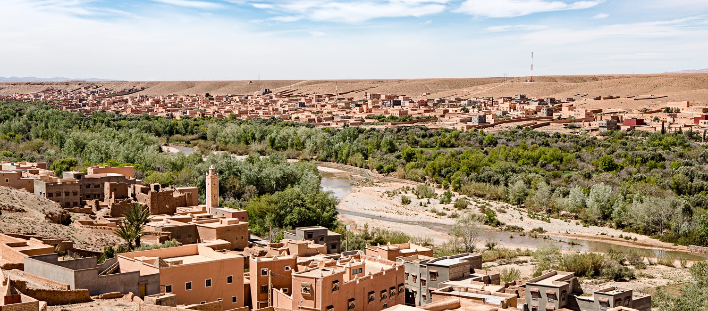 Ville de Boulmane Dades au Maroc