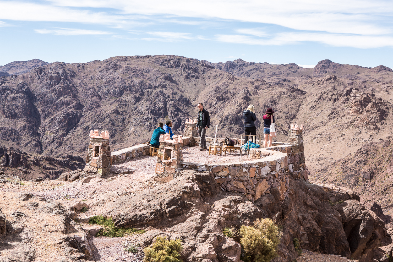 Col de Tizi'n Tazazert au Maroc