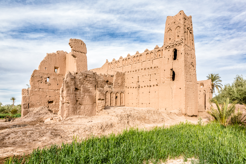 Kasbah à Skoura au Maroc